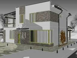 Визуализация, дизайн фасада, подбор материалов, дизайнер - фото 4