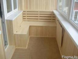 Внешняя и внутренняя отделка балконов