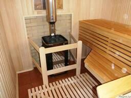 Внутренняя отделка бань и домашних саун