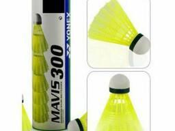 Волан пластиковый, головка пробка Mavis (6 шт), арт. М-300