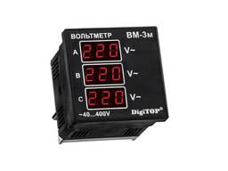 Вольтметр действующего значения переменного тока Вм-3м