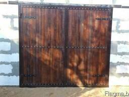 деревянные ворота цена где купить в беларуси
