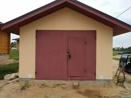 Ворота гаражные и др. изделия из металла - фото 1