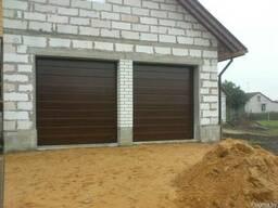 Ворота гаражные секционные подъемные. Рассрочка (0%) - фото 4