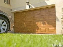 Ворота гаражные секционные. Роллетные ворота.