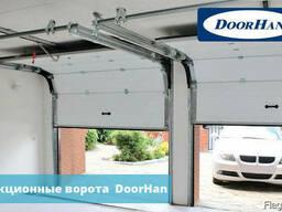 Ворота гаражные секционные с автоматикой Могилев