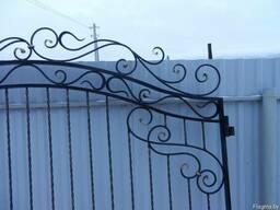 Ворота калитка кованые - фото 2