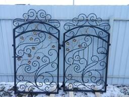 Ворота калитка кованые - фото 3