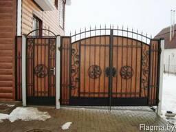 Ворота калитки любой сложности