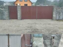 Ворота калитки заборы