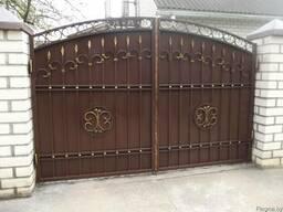 Ворота откатные , распашные , калитка