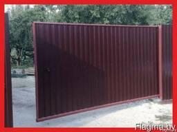 Ворота откатные с доставкой в Мозырь
