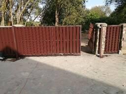 Откатные ворота, Распашные ворота, Автоматика для ворот, Изготовление и установка