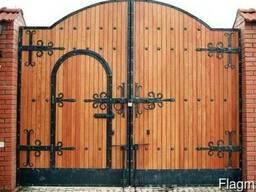 Ворота под старину