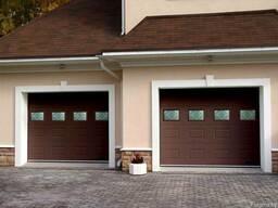 Ворота секционные гаражные Alutech Trend