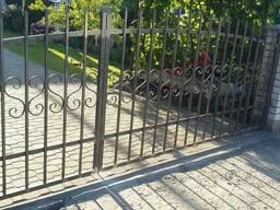 Ворота сварные распашные