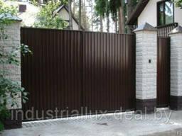 Ворота, заборы металлические - всё необходимое для забора