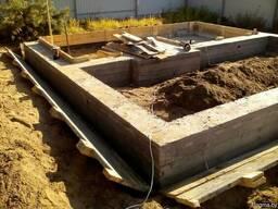 Все виды работ по строительству.Строительство фундаментов