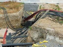 Выполняем прокладку оптоволоконного кабеля в Минске
