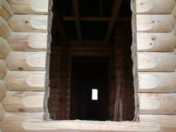 Вырезка проемов в деревянном доме