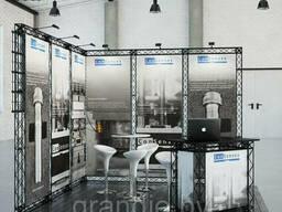 Выставочный стенд модульный из ферм truss артикул 2551