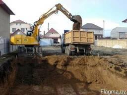 Вывоз грунта с утилизацией самосвалом 10 20 25 30 тонн