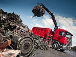 Вывоз металлолома в Минске и области. Сдать металлолом.