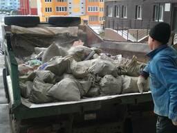 Вывоз строительного мусора в мешках Самосвалом 10 -20 тонн