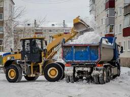 Вывоз снега с погрузкой цена за м3 Минск