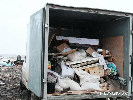Вывоз строительного мусора, пр. хлама. Грузчики