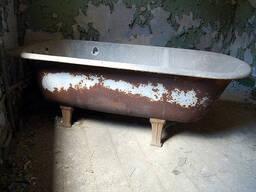 Вывоз ванны чугунной и другого лома