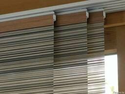 Японские шторы. Карнизы для японских штор