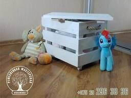 Ящик бокс для игрушек Детский Подарок Сувенир Хранение