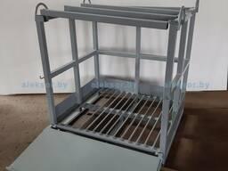 Ящик для хранения и транспортировки газовых баллонов