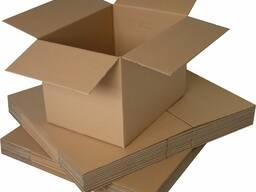 Ящики, коробки картонные для ягод, клюква, черника, брусника