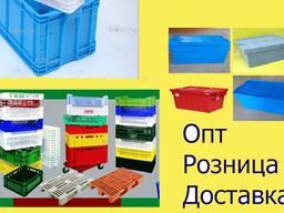 Ящик пластиковый 600х400х120 арт. 704-01-01