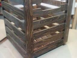 Ящики из фанеры декорированные