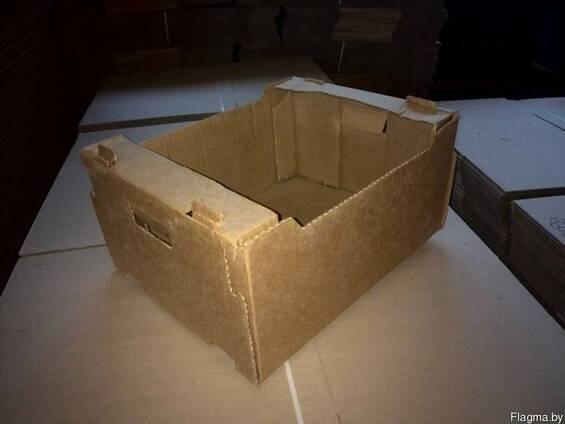 Ящики, коробки, лотки.