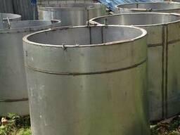 Ёмкости с лопостной мешалкой стальные из кислотостойкой нерж