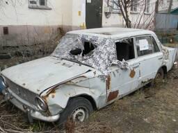 Заберу-Куплю-Вывезу автохлам на металл.