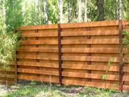 Забор деревянный Z-02