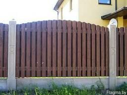 Забор деревянный Z-07