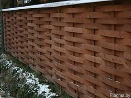 Забор деревянный Z-10