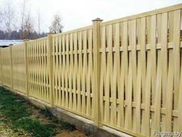 Забор деревянный Z-11