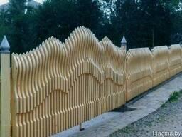 Забор деревянный Z-12