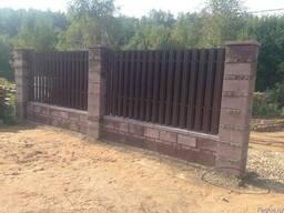 Забор из бессера