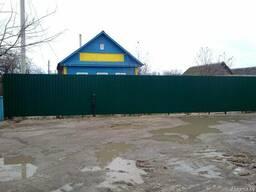 Забор из металлопрофиля. Рассрочка до 24 мес.