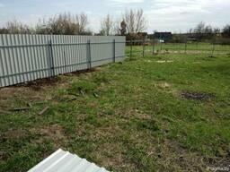Забор из металлопрофиля в Могилеве под ключ!