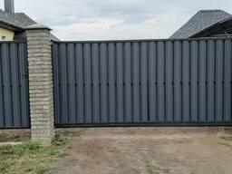 Забор из Металлопрофиля в рассрочку