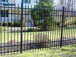 Забор металлический #2